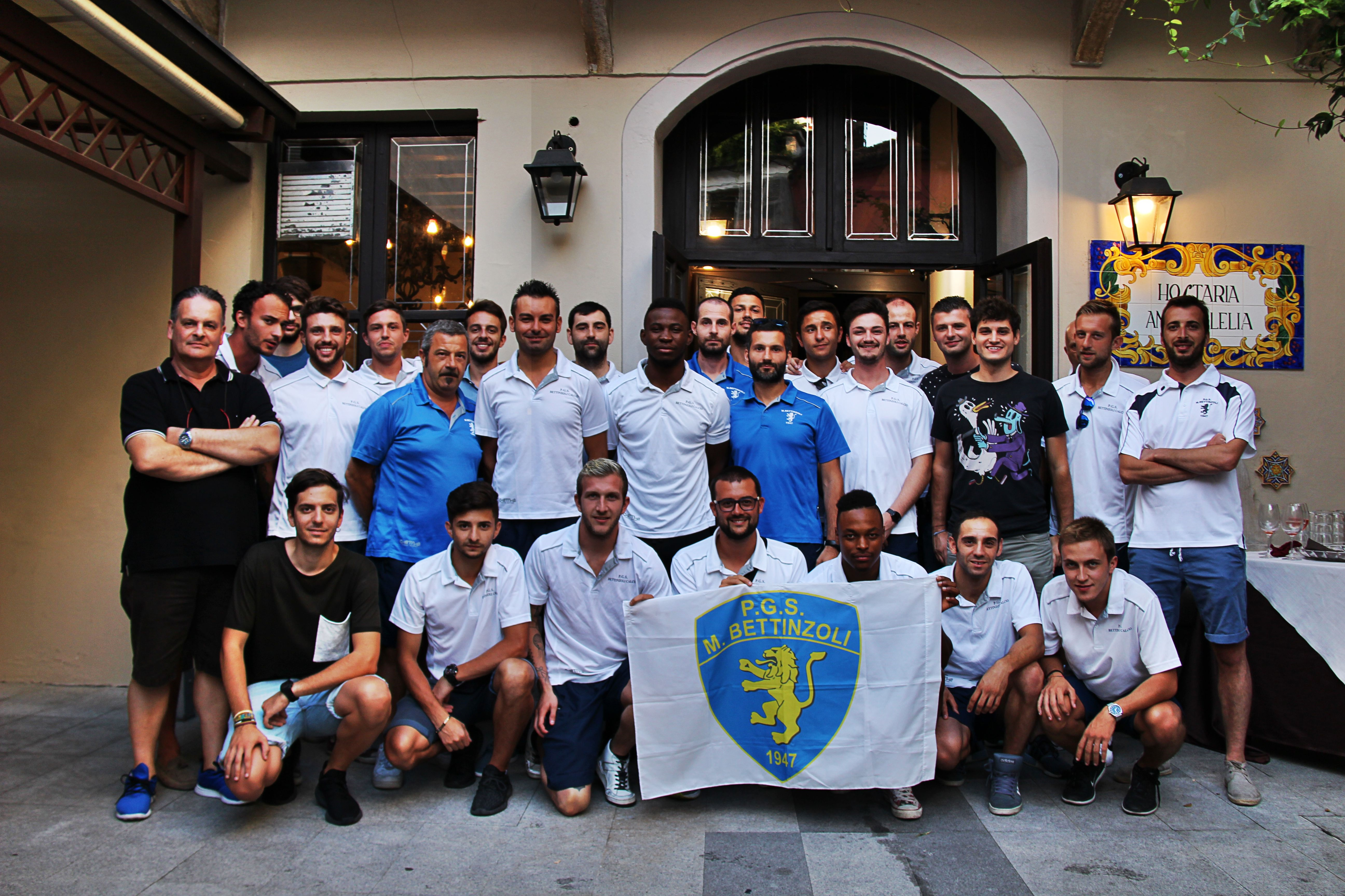 FOTO PRESENTAZIONE TERZA CATEGORIA M. BETTINZOLI CALCIO
